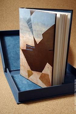 Reliure à décor en cuirsur les correspondances de George Sand et de Gustave Flaubert