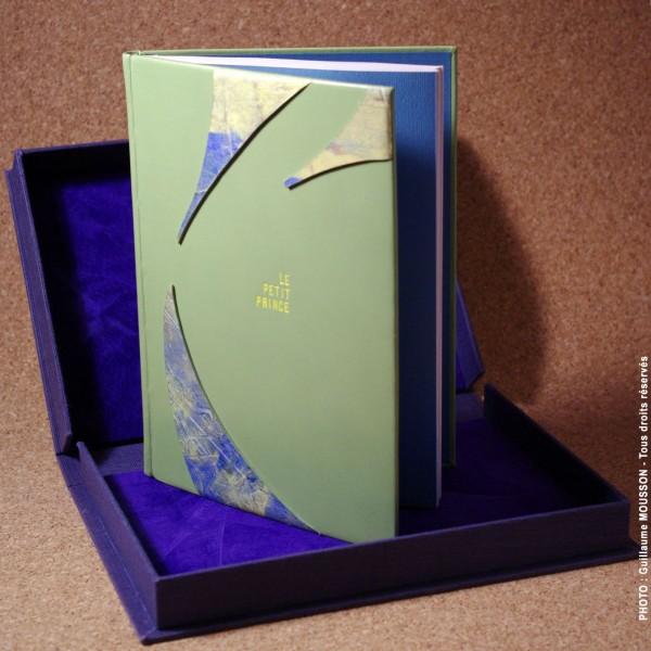 Création en box et papier personnel  sur Le Petit Prince de Saint Exupéry