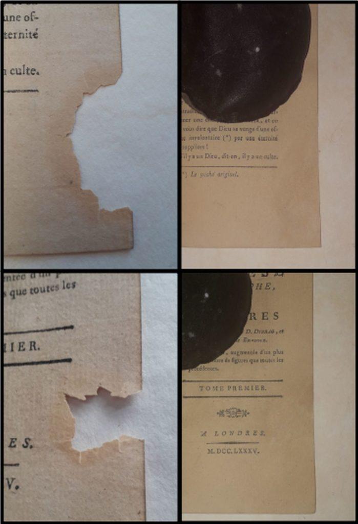 restauration papier japon